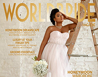 Coverstory for Worldbridemagazine