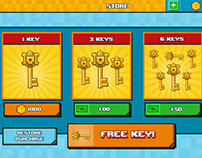UI set for mobile games