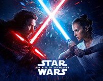 Star Wars: The Rise Of Skywalker official Korea poster