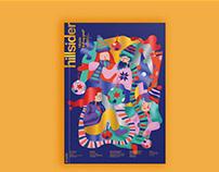Hillside magazine cover design