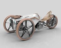 Three wheeled E-bike