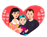 My family heart