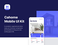Cahome Mobile UI Kit