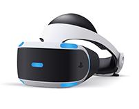 PlayStation VR Vector Illustration