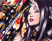 Geisha - Illustration