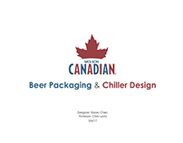 Molson Canadian Packaging Design