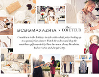 BCBG x Coveteur Holiday 2015 Sweepstakes Concept