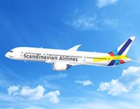 Scandinavian Airlines Rebranding