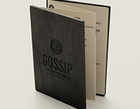Gossip Downtown Menu