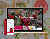 Juicyloops app. The world of juices at your fingertips.