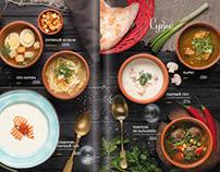 Дизайн меню для ресторана/Design menu & photo