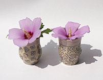 Mini Patterned Vases
