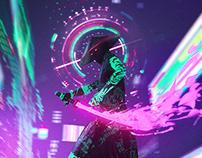 Neon samurai