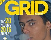 'GRID' Magazine - College Project.