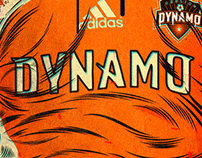 Dynamos Jersey 2006. Houston Dynamos. Feb., 2017.