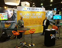 PrizeLogic Branding - Trade Show Booth Display
