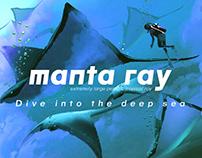 MANTA RAY - FONT