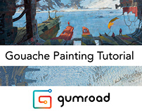 Gouache Painting Tutorial