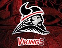 Vikings Logo: Long Beach City College Athletics