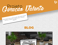 Projeto Geração Valente | Desenvolvimento da Campanha