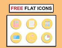 FREE Flat Office Icons