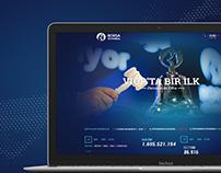 Borsa İstanbul Web Site Concept Redesign