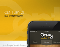 Century 21 Real Estate Mobile App