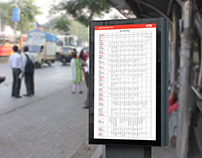 Redesign of the BEST Bus Time Table