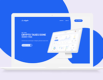 Landing Page Design || Coming Soon