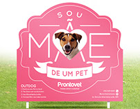 Prontovet - Sou Mãe de Um Pet