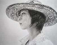 conte portrait