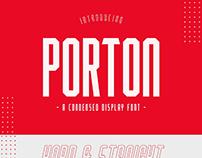 Porton Condensed Font