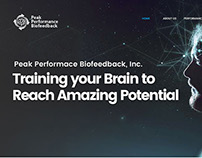 Website Design for Peak Performance BioFeedback Inc