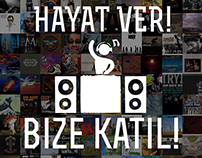Radyo Bilkent Bize Katil Afisi