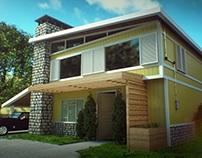 Nuketown House 3D