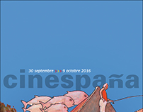 Affiche Cinespaña