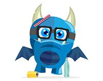 """Diseño Personajes - Campaña """"No seamos monstruos"""""""