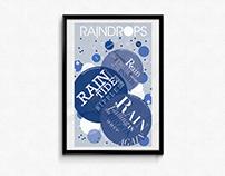 Raindrops(Large Print)