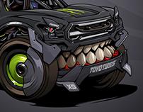 Kyle LeDuck's robotic #BeastedUp No.2