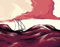 Le navi son partite