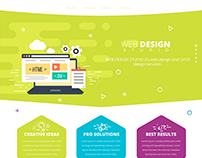 web design studio template