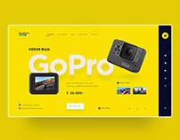 GoPro UI design concept
