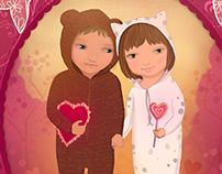 Illustrations for Valentine's Day