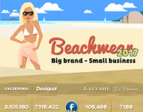 Infographic - Beachwear 2017