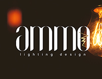 AMMO - Lighting Design Branding