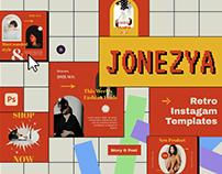 Jonezya Instagram Template