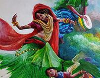 acrylic painting 80x60