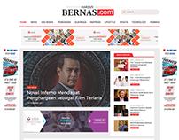 Re-Design harianbernas.com