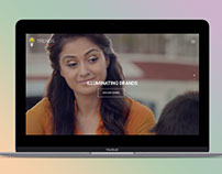Trends Ad Films website by StartTall Branding