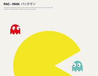 PAC - MAN パックマン / Poster Design